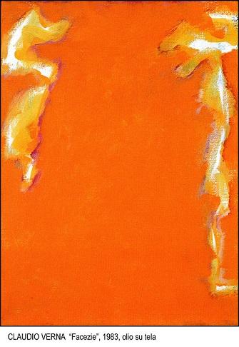 VERNA, Facezie, olio su tela (1983), LGT